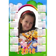 "Детски календар ""Мечо Пух"" КОД:22"