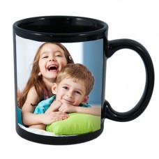Черна чаша с място за снимка или текст